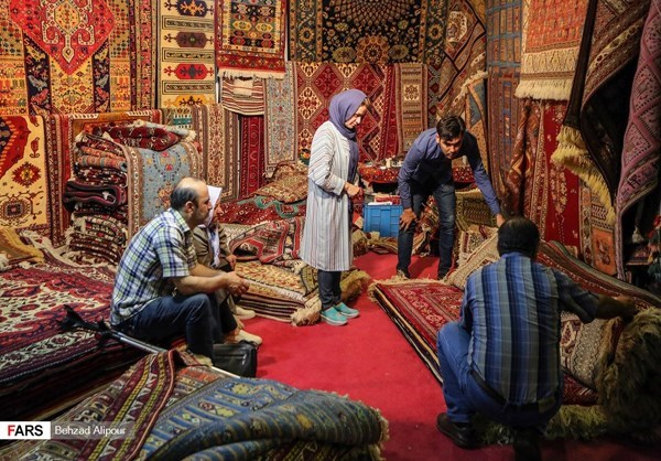 Over 80% of Iranian hand-woven carpets exported