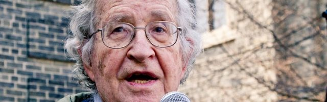 Noam Chomsky Warns of the Rise of 'Judeo-Nazi Tendencies' in Israel