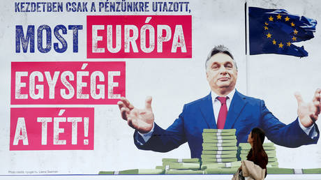 Orban's party suspended from European parliament bloc over ongoing feud with Brussels