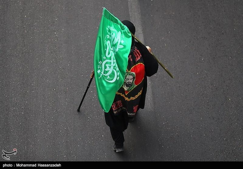 پیاده روی جاماندگان اربعین حسینی(ع)