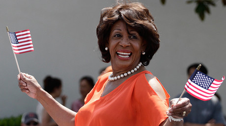 U.S. Congresswoman Maxine Waters © Jonathan Alcorn